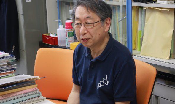 教員紹介:玉手英利先生(理学部生物学科)