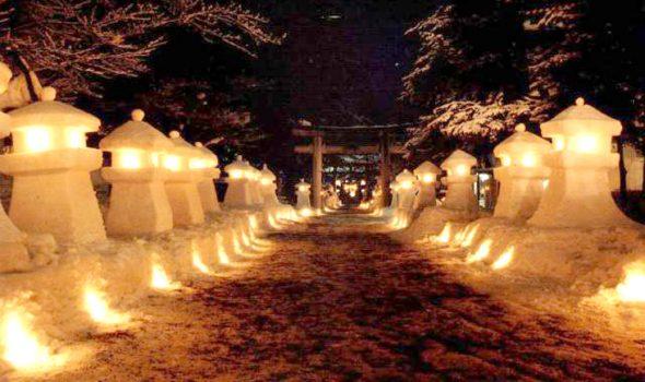 雪灯篭祭り【in 米沢】